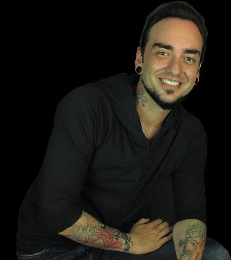 Tatuador Jonas Pescatore - Fundador do curso online Eu Quero Ser um Tatuador