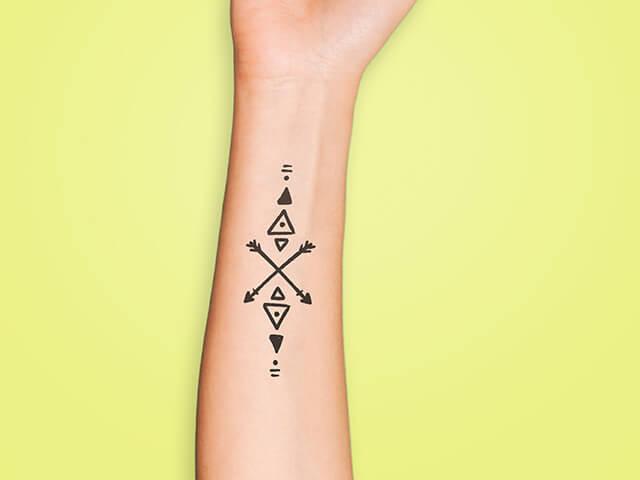 Geométricos - Estilos de Tatuagem
